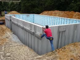 Modular home foundations for Superior wall foundation