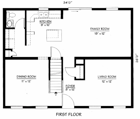 The constitution cape code for Cape cod modular home floor plans