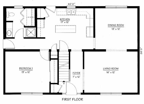 Modular home cape cod modular homes floor plans for Cape cod floor plans modular homes